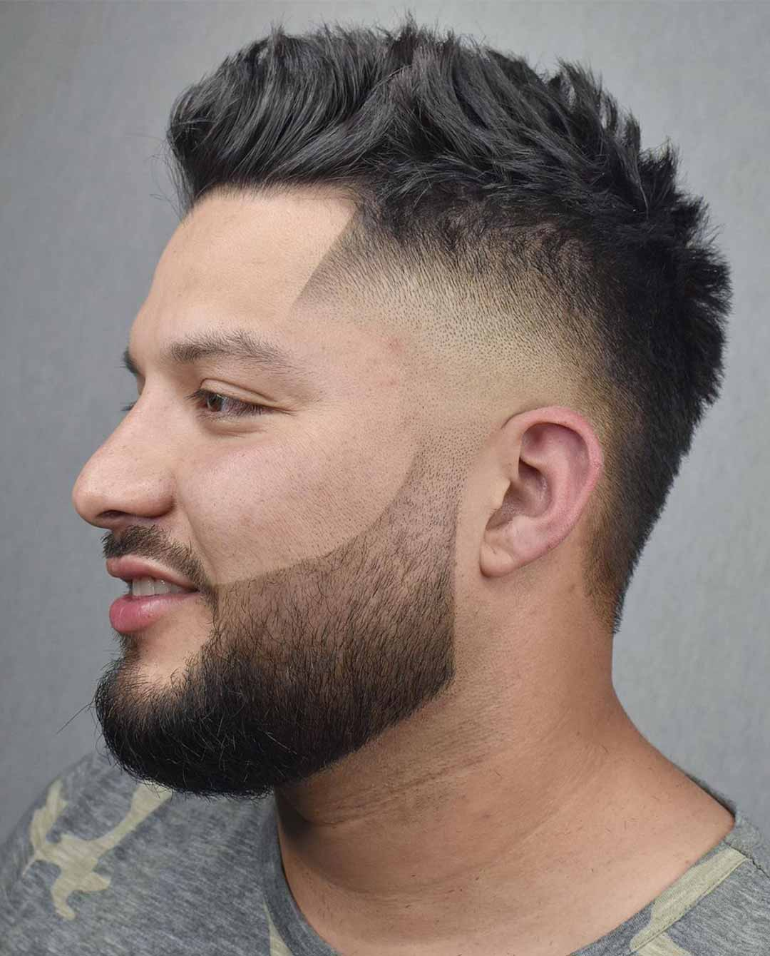 Mohawk with Skin Fade