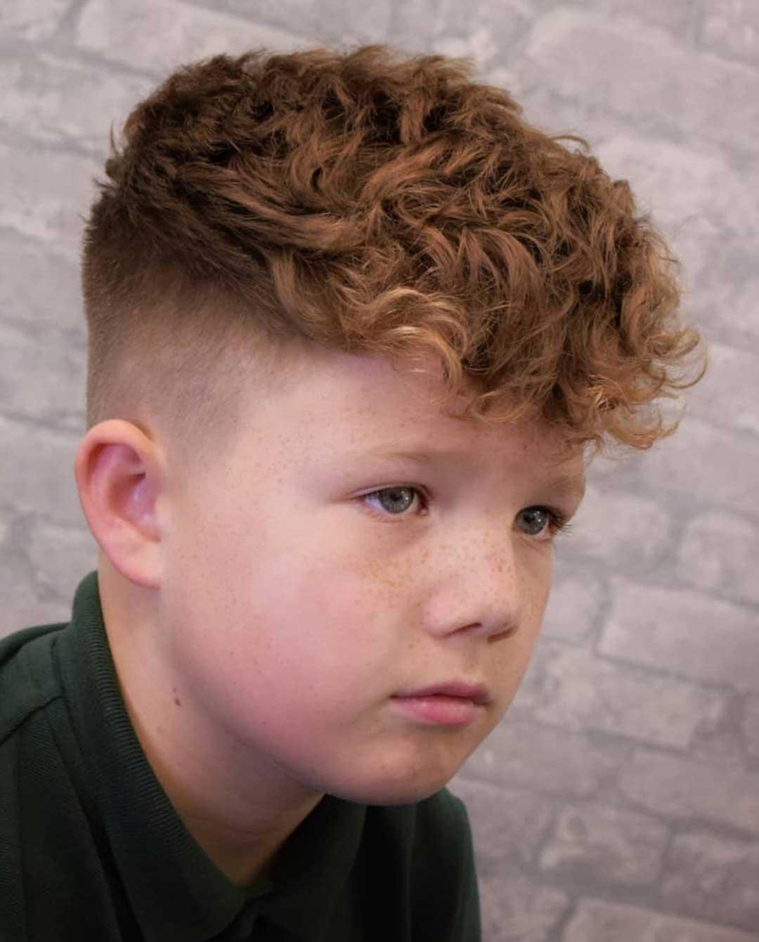 Curly Crop Top