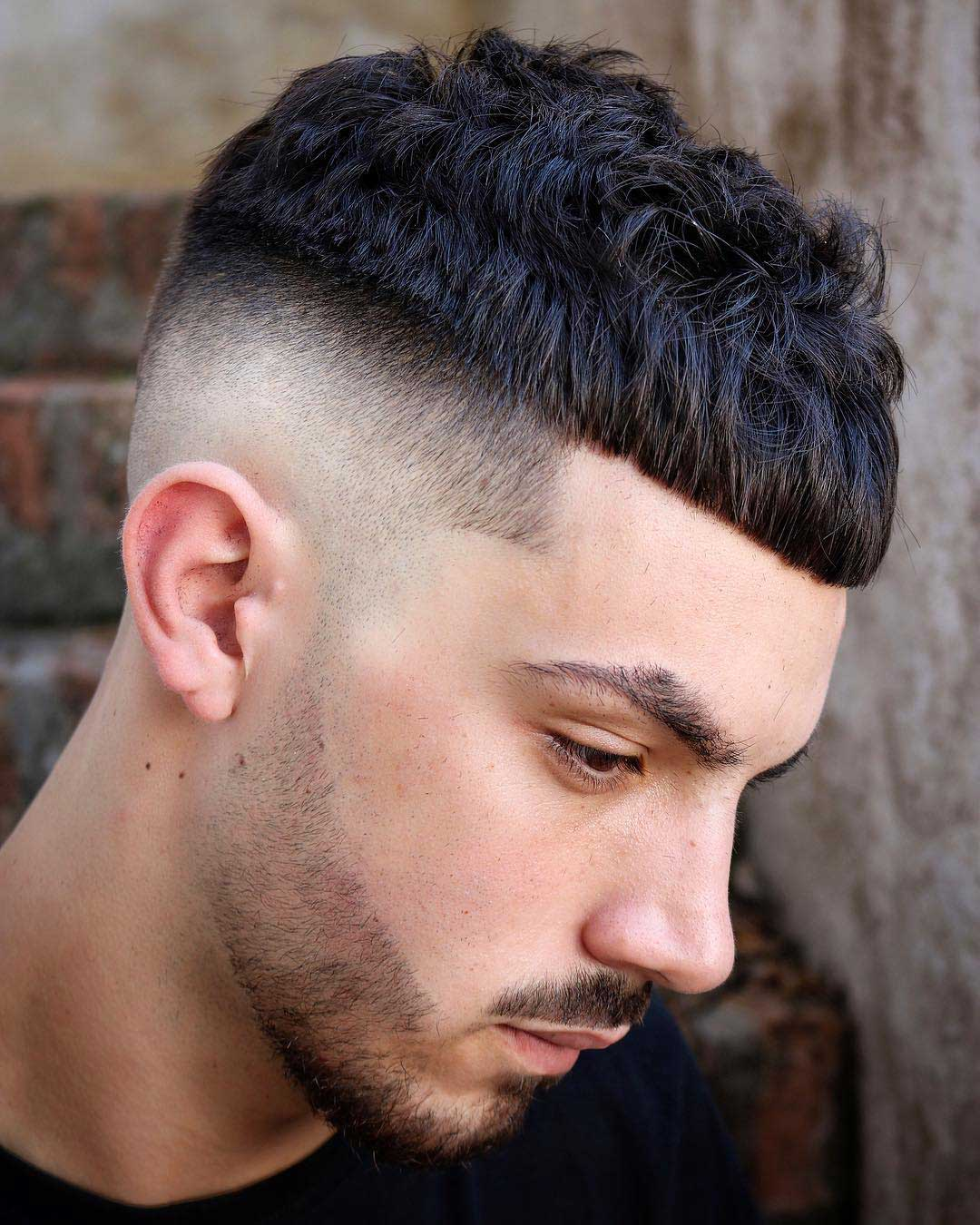 French Crop Bald Fade