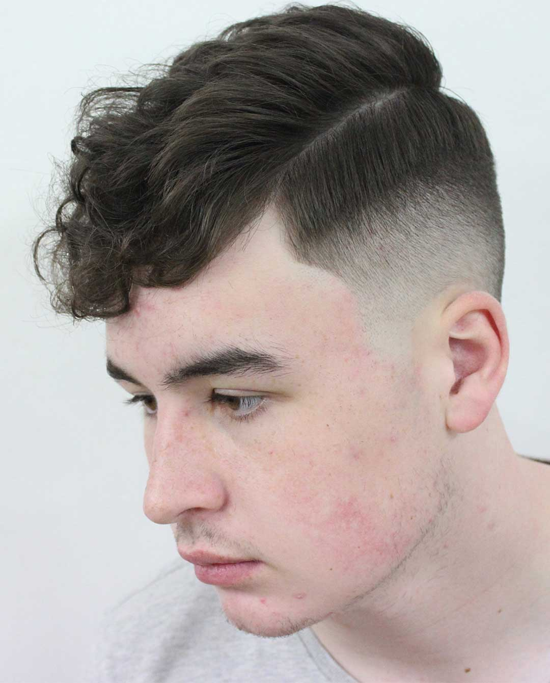 Curly Top with Fringe