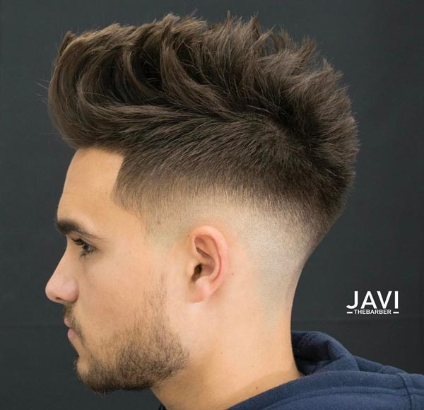 Mohawk with Low Skin Fade haircut