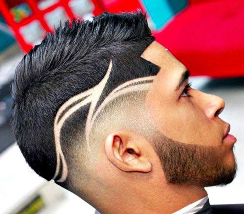 Crisp Fohawk haircut