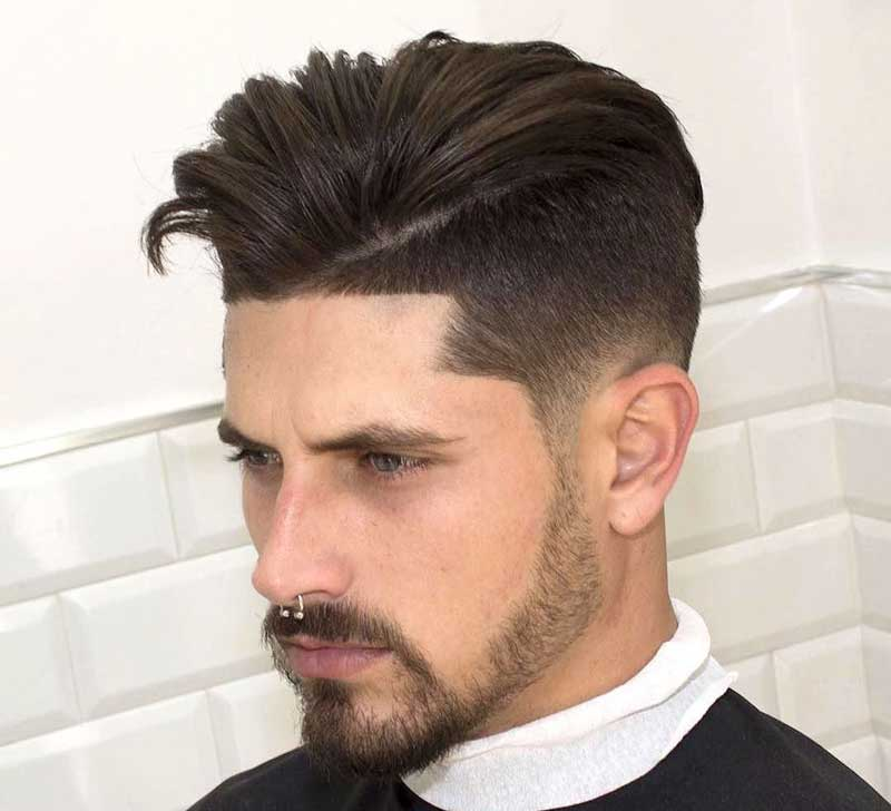 Fohawk hairstyle