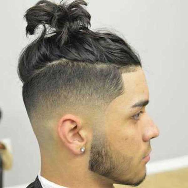 Messy Textured Top Knot