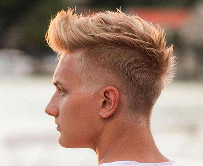 Faux Hawk haircut