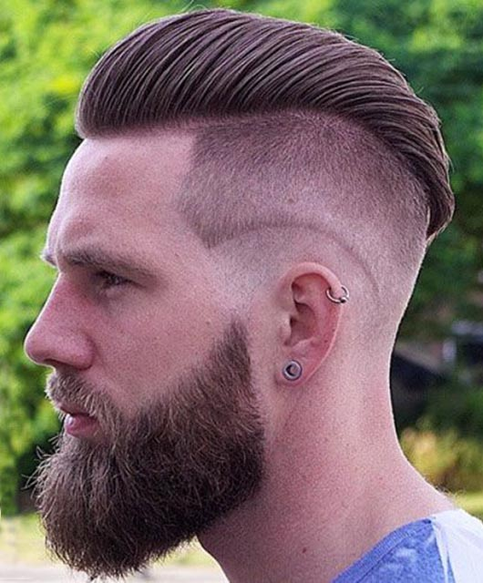 Classic Comb Over Haircut