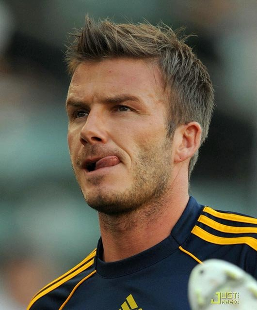 Featured David Beckham's Hairstyles