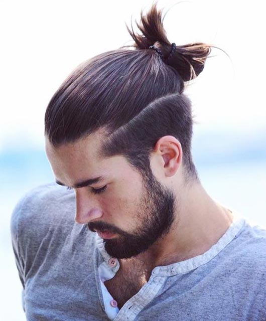 Man Bun Undercut Ideas Get More Inspiration