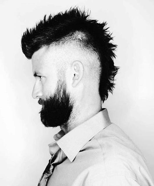 Trendy Faux Hawk Hairstyles