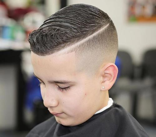 Wavy Sculptured Pompadour - Toddler Boy Haircut