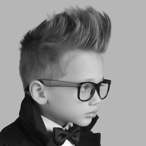 Textured High Quiff - Toddler Boy Haircut