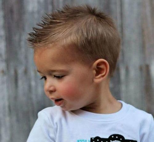 Spiky Texture - Toddler Boy Haircut
