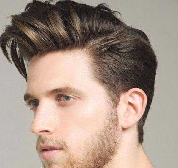 Quiff Comb Over haircut