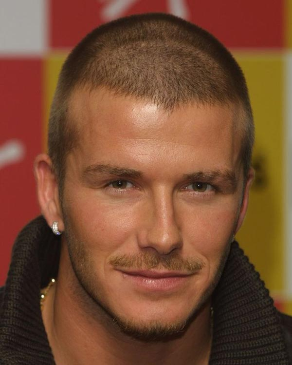 David Beckham hair
