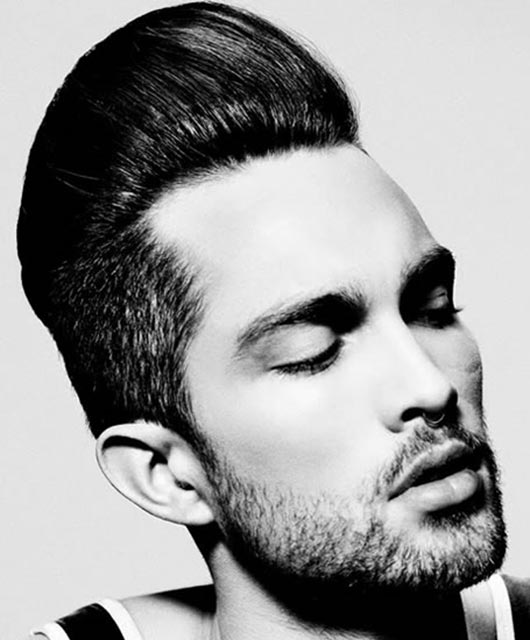 Pompadour Haircut Ideas