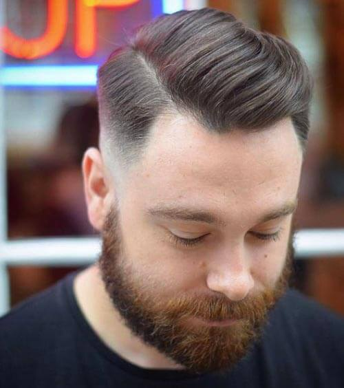 Side Part Comb Over Haircut