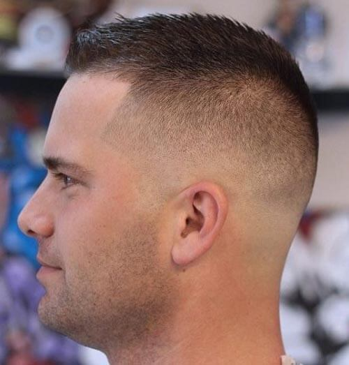 Military Style Buzz Cut
