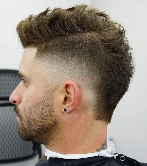Tapered Cut With Side Part