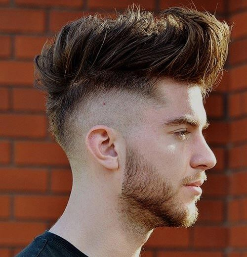 High Fade Mohawk With Tapered Back