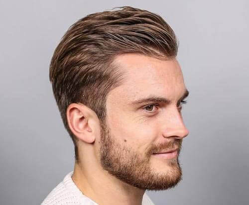 Textured Quiff For Receding Hairlines