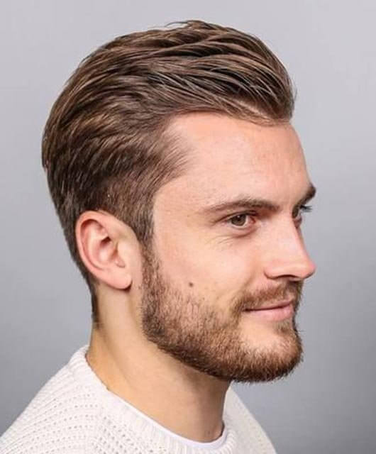 hairstyles for men with receding hairlines