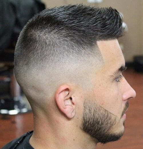 High and Tight Haircut with Spikes