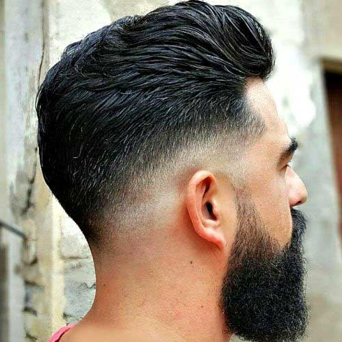 Skin Fade Comb Over