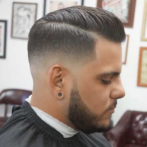 Low Skin Fade Comb Over