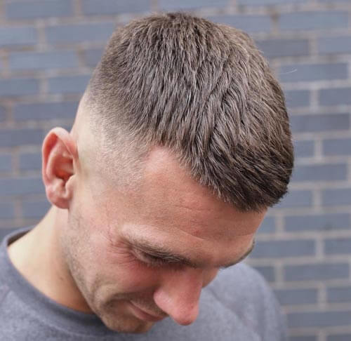 Textured and Spiky Crew Cut