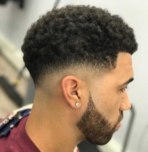 Curly Top Haircut