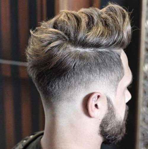 Low Bald Fade Quiff