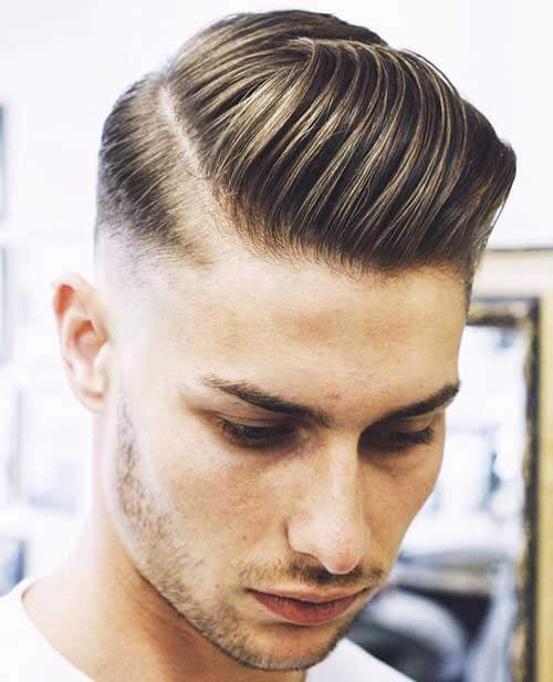 Comb Over Pompadour