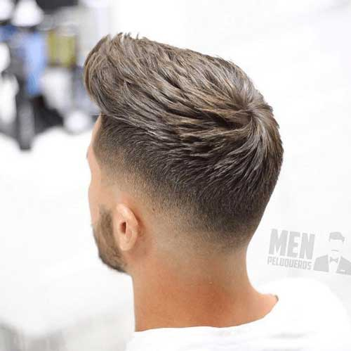 Textured Taper Fade Haircut
