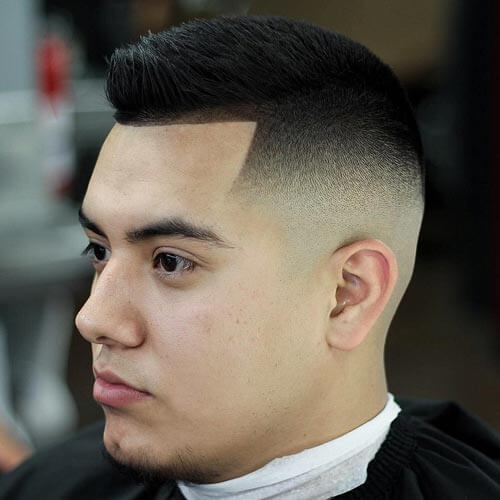 Temple Fade High and Tight Fade Haircut