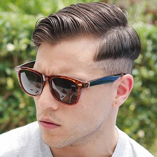 60 Stylish Comb Over Fade Haircuts Modern Men S Choice