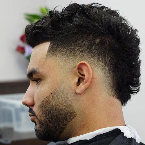 Mohawk Fade Haircut