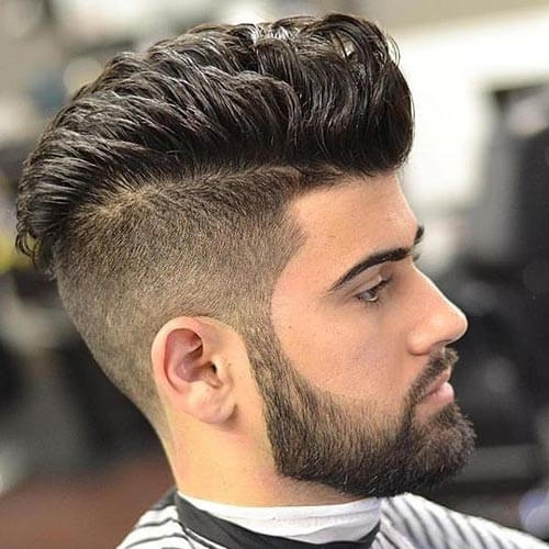 Layered Faux Hawk with Pomp