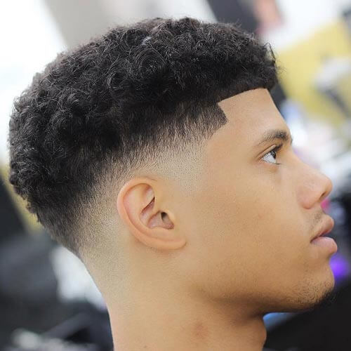 Beautiful #22 Bald Fade With Curls