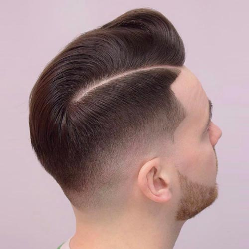 Neat Comb Over Fade