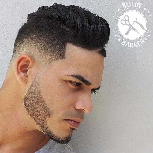 Modern Quiff with Low Temp fade
