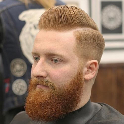 Classic Pompadour and Comb Over