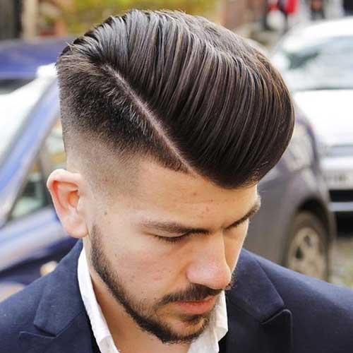 60 Stylish Comb Over Fade Haircuts - Modern Men's Choice