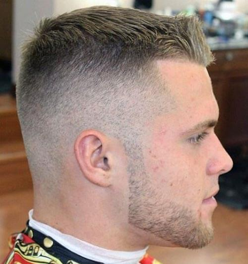 High and Tight Fade with Comb Over