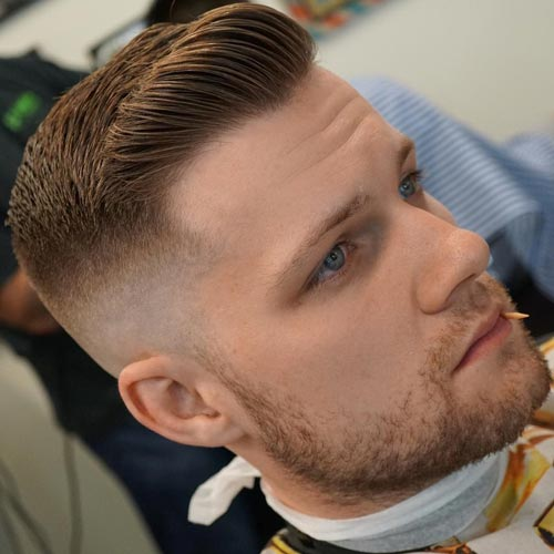 High and Tight Brushed Up Undercut