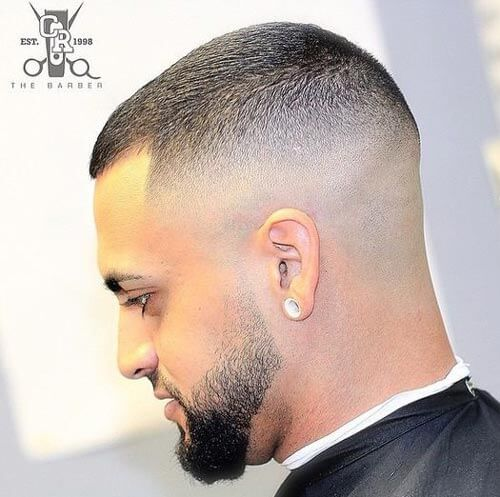 Buzz Cut with High Top