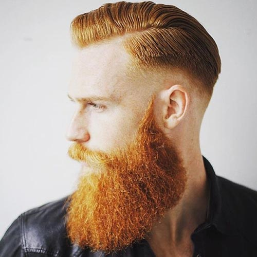 Hipster Skin Fade Comb Over