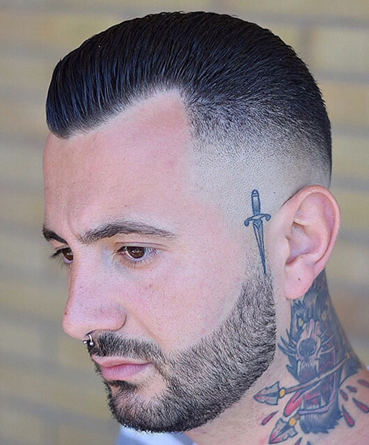 High and Tight Fade Haircut