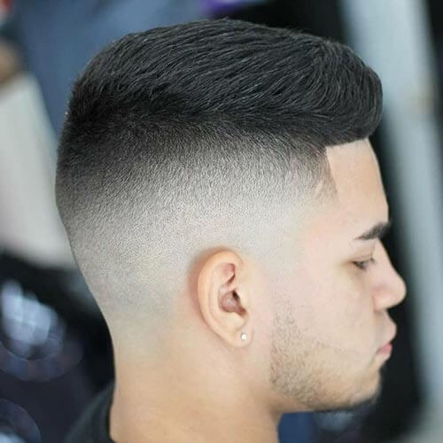 High and Tight with Comb Over