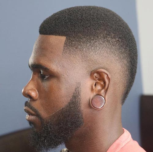 Temple Fade Mohawk - Short Hairstyles For Men