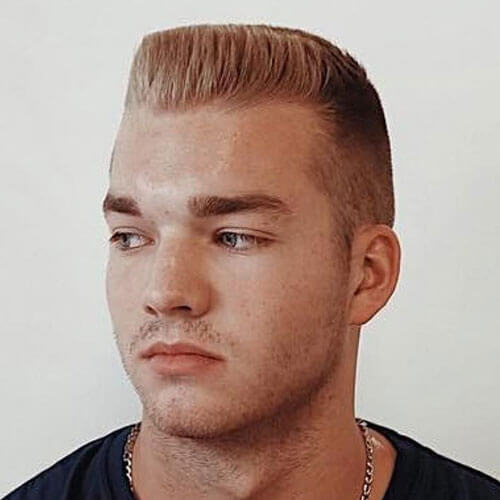 Military Flat Top with Highlights